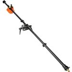 Manfrotto 3 Piece Black Boom Assembly with 10 lb Counterweight, 6.5Feet Long