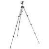 Manfrotto 394 Aluminum 4 Section Tripod With Integrated QR Ball Head Kit