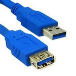 USB 3.0 Type A Male / Type B Male Cable 6 ft
