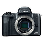 Canon EOS M50 Mirrorless Camera Body - Black