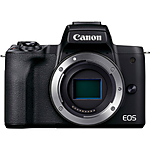 Canon EOS M50 Mark II Mirrorless Digital Camera (Body Only, Black)