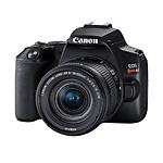 Canon EOS Rebel SL3 Camera with EF-S18-55mm f/4-5.6 IS STM Lens Kit (Black)
