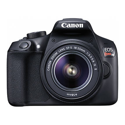 Canon EOS Rebel T6 Digital SLR Camera with 18-55mm f/3.5-5.6 IS II Lens