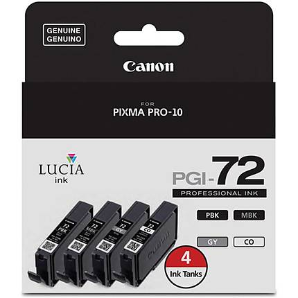 Canon PGi-72 3 Mono + 1 CO Pack