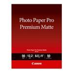 Canon 8.5 x 11 In. Photo Paper Pro Premium Matte Paper (50)