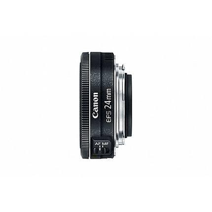 Canon EF-S 24mm f/2.8 STM Wide Angle Lens - Black