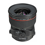 Canon TS-E 24mm f/3.5L II Tilt-Shift Lens - Black