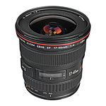 Canon EF 17-40mm f/4L USM Ultra-Wide Zoom Lens - Black