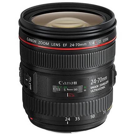 Canon EF 24-70mm f/4L IS USM Standard Zoom Lens - Black
