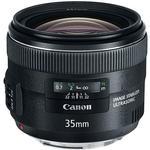 Canon EF 35mm f/2 IS USM Wide Angle Lens - Black
