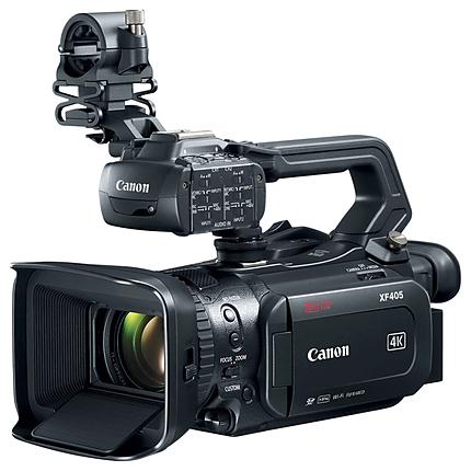 Canon XF405 4K UHD 60P Camcorder with Dual Pixel Autofocus