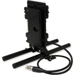Core SWX Battery Cheeseplate  and  15mm LWS Rod Clamp with 4-Pin XLR - AB Mount