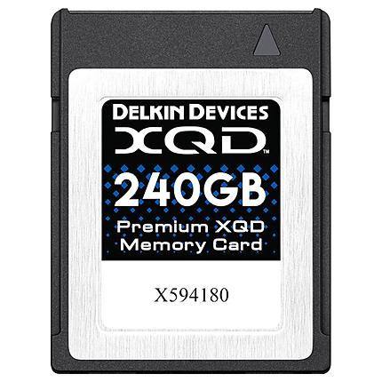 Delkin Devices Premium 240GB XQD Version 2.0 Memory Card 2933X