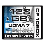 Delkin Devices 128GB 1050X Compact Flash UDMA 7 Prime Memory Card