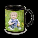 11 oz Black Ceramic Mug