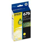 Epson 676xL Yellow Ink Cartridge For Select Workforce Printers