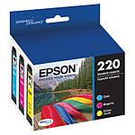 Epson 220 DURABrite Ultra Color Ink Cartridge Multi-Pack