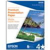 Epson 8.5x11 In. 2-Side Matte Paper - 50 Sheets