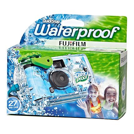 Fujifilm Quick Snap Waterproof 27 exp. 35mm Camera 800 Film  SEE EKC302/402