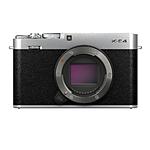 Fujifilm X-E4 Mirrorless Digital Camera Body - Silver