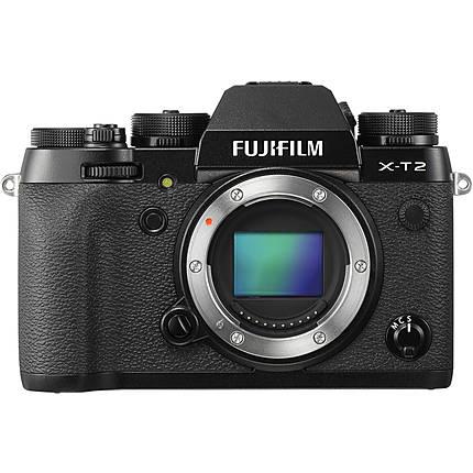 Fujifilm X-T2 Mirrorless Digital Camera Body Only - Black