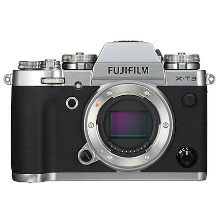 Fujifilm X-T3 Mirrorless Digital Camera (Silver, Body Only)