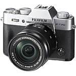 Fujifilm X-T20 Camera Body with XC16-50mm Lens Kit (Silver)