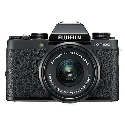 Fujifilm X-T100 Black - Body Only
