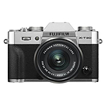 Fujifilm X-T30 Camera with XC15-45mm F3.5-5.6 OIS PZ Lens Kit (Silver)