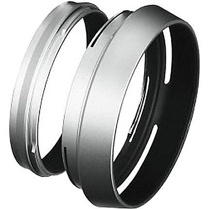 Fujifilm LH-X100 Silver Lens Hood w/Adapter f/ X100 X100S X100T X100F X100V