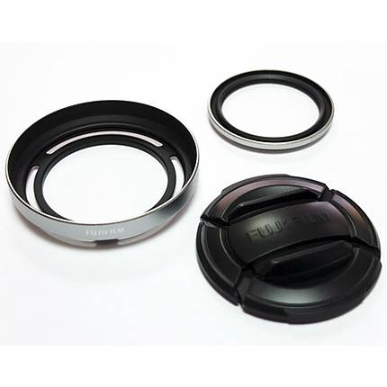 Fujifilm X30 Lens Hood and Filter Set (Black)