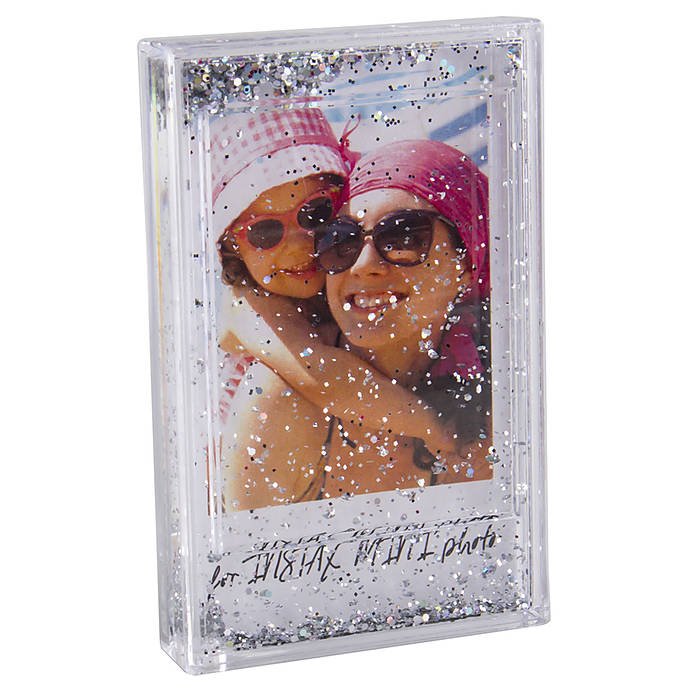 Fujifilm Instax Mini Glitter Frame With Easel Printing Scanning
