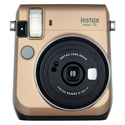Fujifilm Instax Mini 70 Camera - Stardust Gold