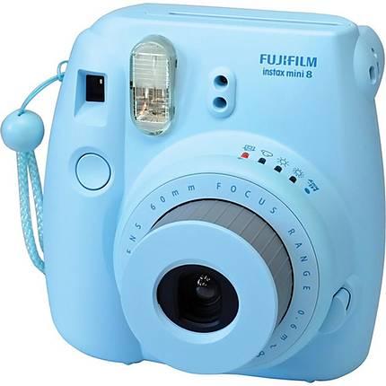 Fujifilm Instax Mini 8 Instant Film Camera - Blue