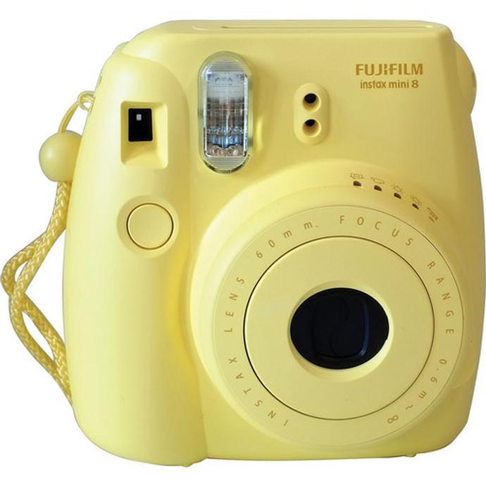 Fujifilm Instax Mini 8 Instant Film Camera - Yellow   FujiFilm ...