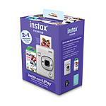 Fujifilm INSTAX MINI LIPLAY Hybrid Instant Camera Bundle (White)