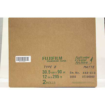 Fujifilm Paper Crystal Archive Type Two 12x295 Matte