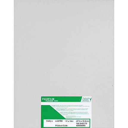 Fujifilm Crystal Archive Paper Type II 8x10 Lustre (100 Sheets)