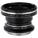 Fotodiox Pro Lens Mount Double Adapter, Bronica GS-1 to Fuji GFX
