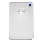 G-Technology 1TB G-DRIVE Mobile USB 3.0 Hard Drive with Thunderbolt -Silver
