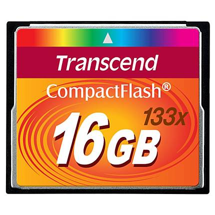 Transcend 16GB 133x Compact Flash Card