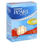 Tampax Pearl Tampons 18pack Super Plus Unscented