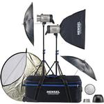 Hensel Integra 500 Plus with Freemask - 2 Light Kit