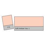 LEE Filters Soft Amber Key 1 Lighting Effects Gel Filter