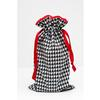 Mod Houndstooth Black And White Deluxe Lens  and  Camera Accessory Bag