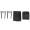 Nanlite Fabric Barndoors and Grid for PavoTube 15C