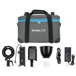Nanlite Forza 60B Bicolor LED Monolight Kit Includes NPF Grip  and  Bowens Adapt