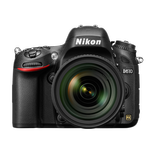 Nikon D610 24.3 MP CMOS Digital Camera with 24-85mm Lens-Black