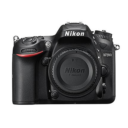Nikon D7200 DX-format Digital SLR Body Only - Black