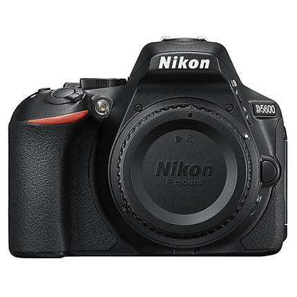 Nikon D5600 DX-format Digital SLR Body Only - Black